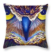 Watching Throw Pillow by Brian  Commerford