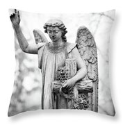 Watching Over Me Throw Pillow