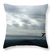 Watching Over Shenandoah Valley Throw Pillow