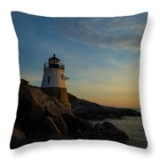 Watching The Sun Throw Pillow