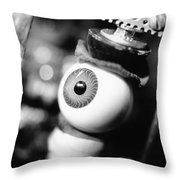 Watching You Throw Pillow