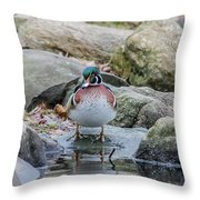 Watchout Throw Pillow