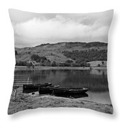 Watendlath Tarn In The Lake District Cumbria Throw Pillow