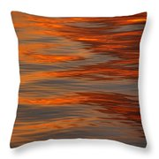 Water Abstract 1 1 14 Throw Pillow