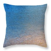 Water Abstract - 3 Throw Pillow