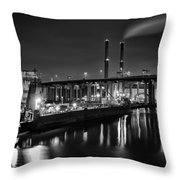 Water And Cement Throw Pillow
