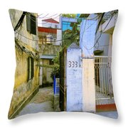 Water And Electric Paid Throw Pillow