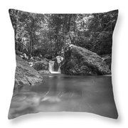 Water And Lighty Throw Pillow