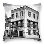 Water And Market Throw Pillow