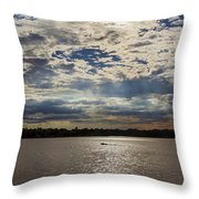 Water And Sky Throw Pillow