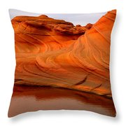 Water And The Wave Throw Pillow