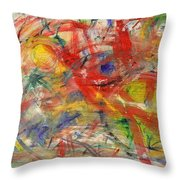 Water And Wax Throw Pillow