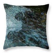Water Art 11 Throw Pillow