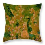 Water Bird Tapestry Throw Pillow