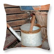 Water Can Throw Pillow