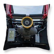 Water Cannon Throw Pillow