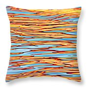 Water Colors 7 Throw Pillow