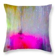 Water Contemplations Throw Pillow