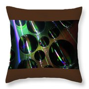 Water Droplets 1 Throw Pillow