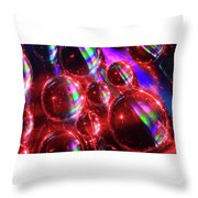 Water Droplets 3 Throw Pillow