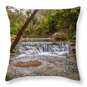 Water Fall Throw Pillow