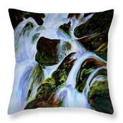 Energy Of Water  Throw Pillow