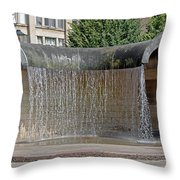 Water Feature - Derby Throw Pillow