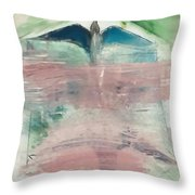 Water Feature Throw Pillow