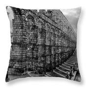 Water For Segovia Throw Pillow