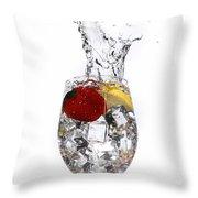 Water Glass2 Throw Pillow