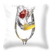 Water Glass3 Throw Pillow