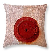 Water Hole 2 Throw Pillow