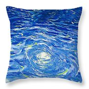 Water In The Pool Throw Pillow