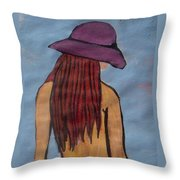 Water Is Cool Throw Pillow