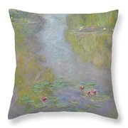 Water Lilies 1908 Throw Pillow