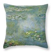 Water Lilies 21 Throw Pillow