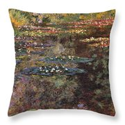 Water Lilies 7 Throw Pillow