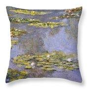 Water Lilies 8 Throw Pillow