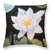 Water Lily 4 Throw Pillow