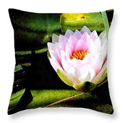 Water Lily No. 2 Throw Pillow