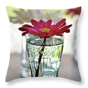 Water Lovers Throw Pillow