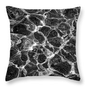 Water Pattern Throw Pillow