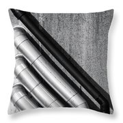 Water Pipes Throw Pillow