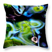 Water Reflection 1135 Throw Pillow