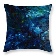 Water Reflections 1 Throw Pillow