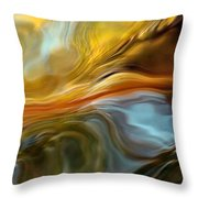 Water Reflections 1064 Throw Pillow