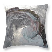Water Spirit Throw Pillow