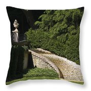 Water Staircase Throw Pillow