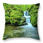 Water Stairs 2 Throw Pillow
