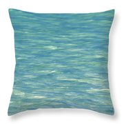 Water Texture Throw Pillow